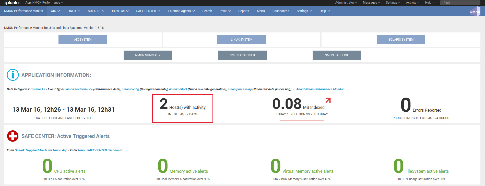 Deploy to distributed deployment — Nmon Performance monitor